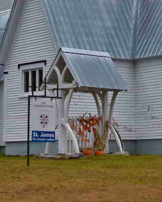 The Gate at St. James the Greater Anglican Church, Ludlow