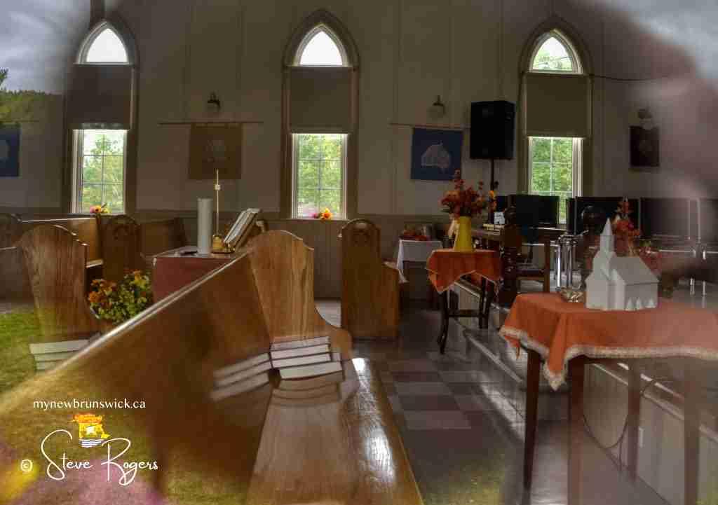 Interior Boiestown NB United Church