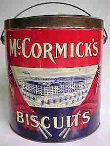 McCormick's Biscuits can