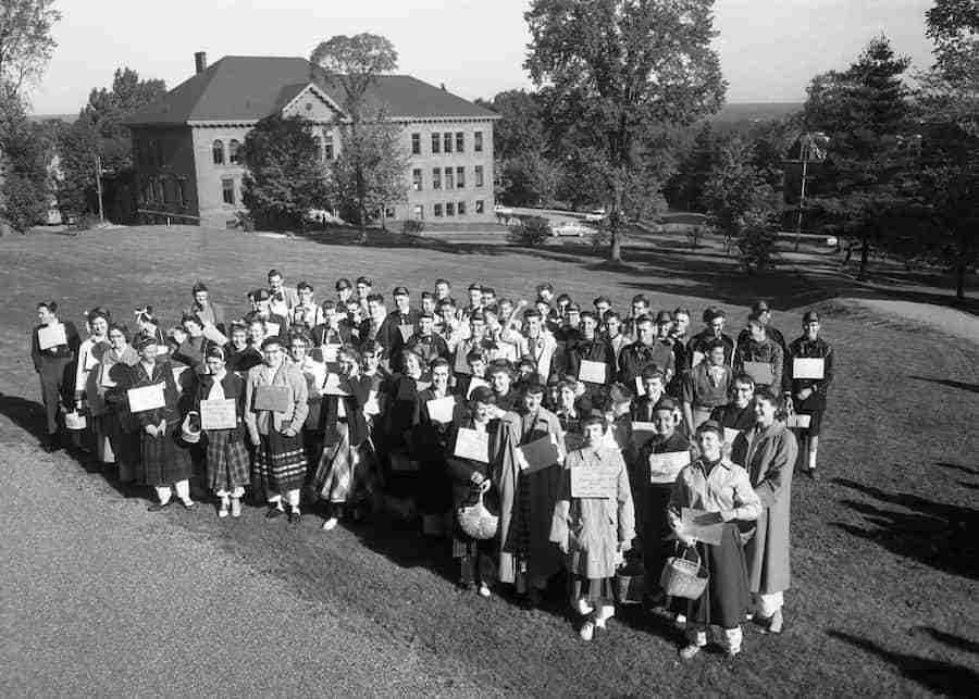 UNB Freshmen 1955