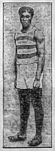 Eldridge Eatman running shorts