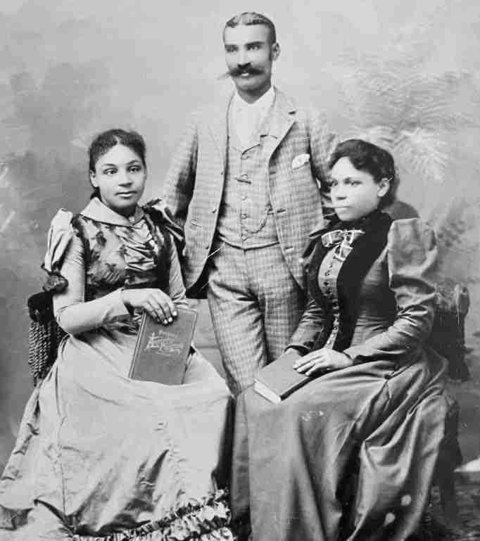 May Dubois, Fairfax Winslow & Sarah Anne Winslow