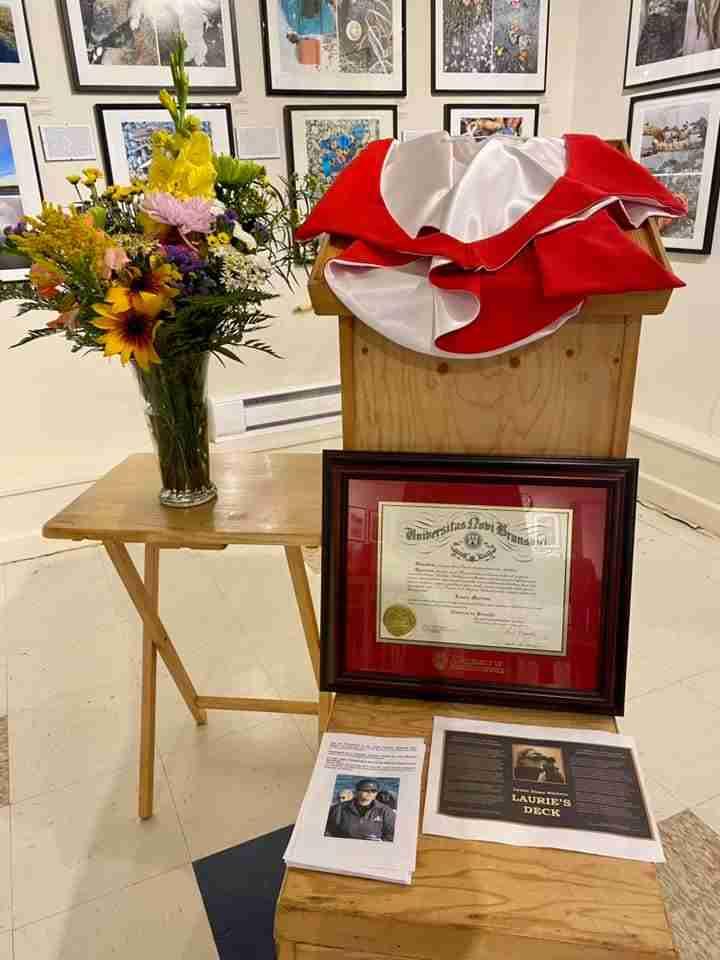 Laurie Murison Memorial at Grand Manan Museum